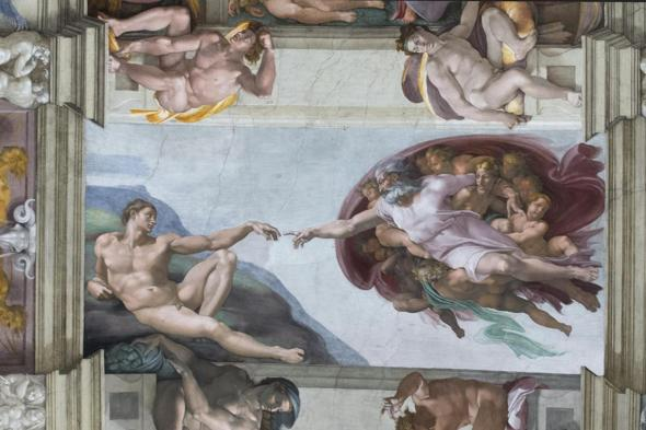 Vatican City: the Sistine Chapel with the new LED lighting