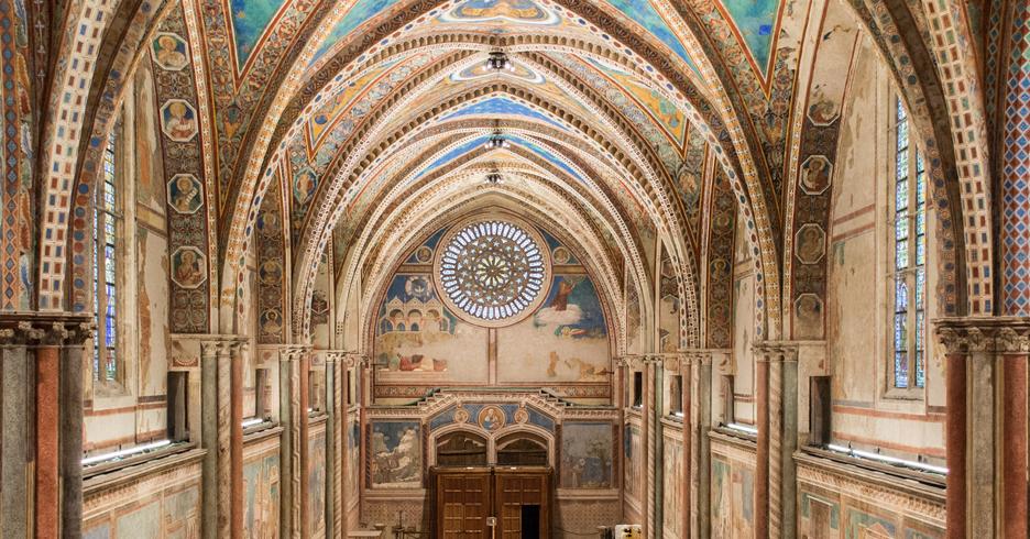 illuminazione-basilica-assisi
