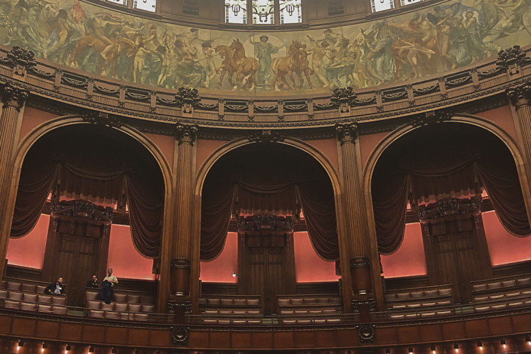 Camera dei deputati vista d'insieme
