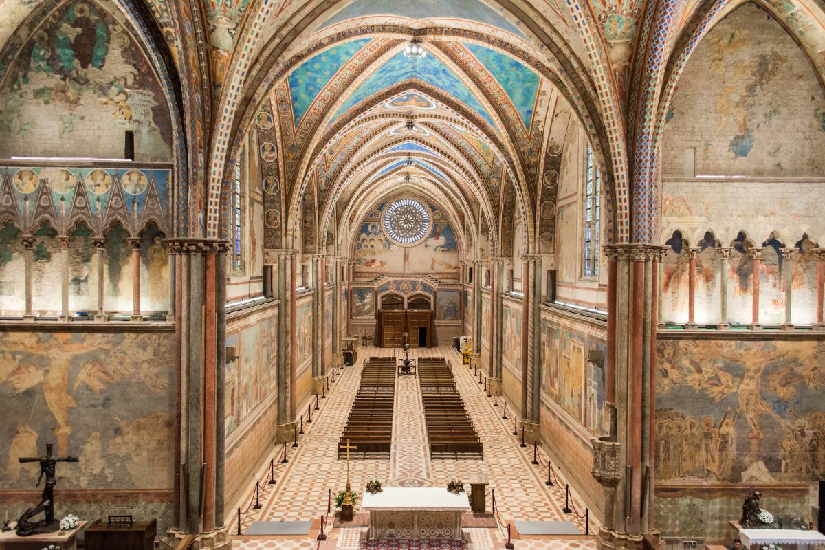 1_Basilica Superiore - vista dall'alto