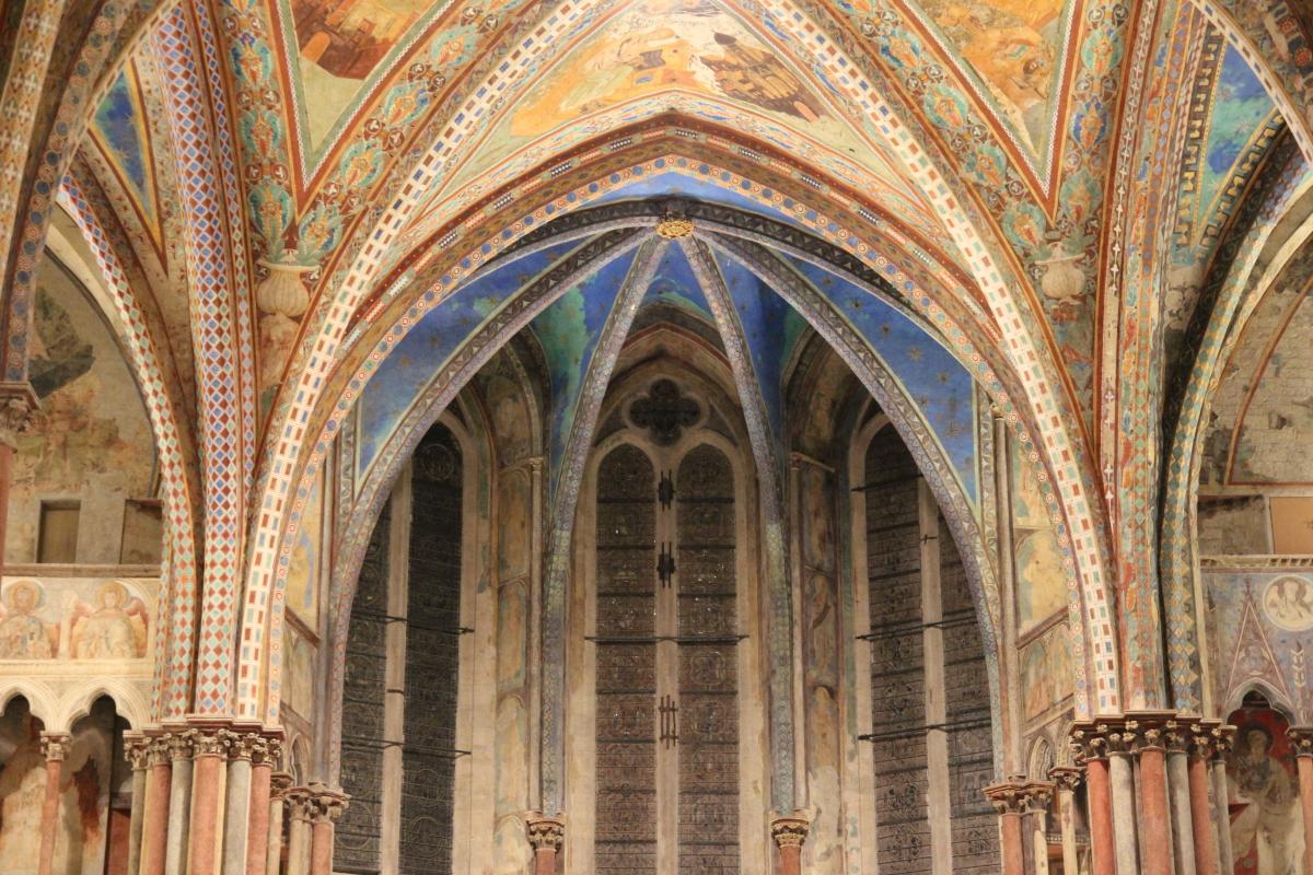 9_Basilica Superiore - Nuova Illuminazione dell'abside