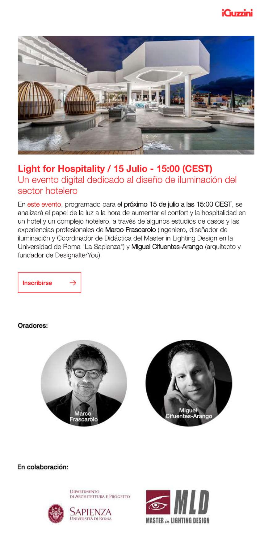 LIGHT FOR HOSPITALITY